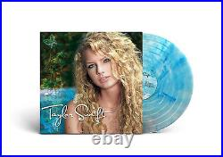 Taylor Swift Exclusive Limited Edition Crystal Clear & Turquoise 2x Vinyl LP