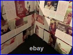 Taylor Swift Red 2 LP PROMO COLORED VINYL MEGA RARE 2012 Big Machine ACM Awards