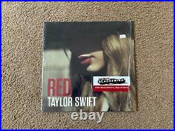 Taylor Swift Red 2x LP Album Crystal Clear Vinyl Record Store Day RSD VG++