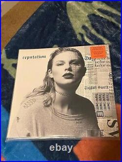Taylor Swift Reputation (Translucent Orange Vinyl) Sealed, Sold Out