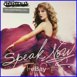 Taylor Swift Speak Now 2LP BLACK FRIDAY 2018 Numbered coloured Vinyl NEW