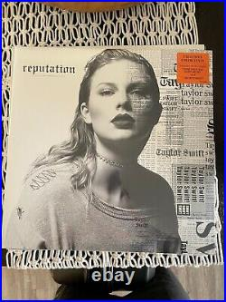 Taylor Swift reputation Vinyl Record Orange FYE Exclusive Brand New and SEaled