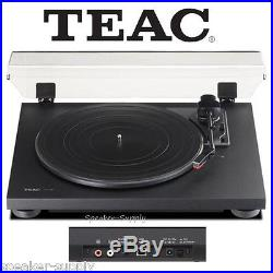 Teac TN-100 Turntable Vinyl Record Player with Preamp & USB Digital Output Black