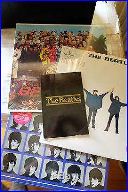 The BEATLES Rolltop Oak box LPs are all STILL SEALED with book LIMITED to 5000