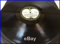 The BEATLES white album low number 00176 Australian issue