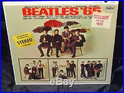 The Beatles Beatles'65 SEALED USA 1964 1ST PRESS MONO PASTA ON COVER LP