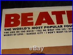 The Beatles Beatles VI SEALED USA 1964 1ST PRESS MONO PROMO RIAA 3 LP