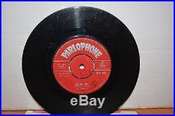 The Beatles Original 1963 Red Parlophone 45 Please Please Me