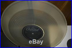 The Beatles RARE Capitol LP 33 SEE THRU CLEAR WAX INVISIBLE VINYL Vintage Record