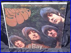 The Beatles Rubber Soul SEALED USA 1965 1ST PRESS RIAA 8 LP With NO BARCODE