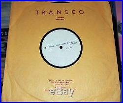 The Beatles Sgt Pepper LHCB 1967 Two Disc Acetate set 12 & 10 Excellent