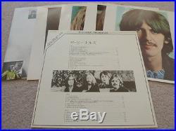 The Beatles White Album Vinyl Record Japanese Japan 1982 Red Wax Mono Excellent