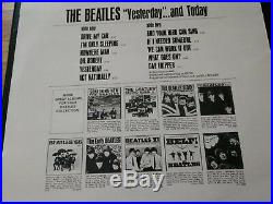 The Beatles Yesterday And Today Capitol T 2553 Butcher Cover LP With Letter