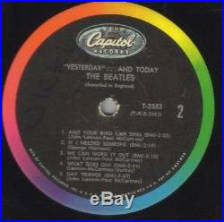 The Beatles Yesterday And Today LP 1966 MONO Butcher Cover genuine
