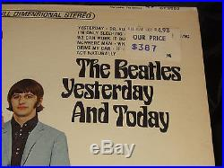 The Beatles Yesterday And Today Sealed USA 1966 VINYL LP with Rainbow RIAA 5