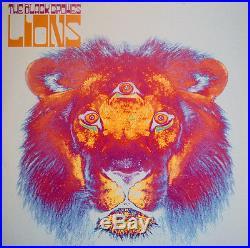 The Black Crowes Lions 2001 EU vinyl LP gatefold sleeve