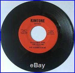 The Combinations I'm Gonna Make You Love Me Rare Northern Soul 45 Kimtone Hear