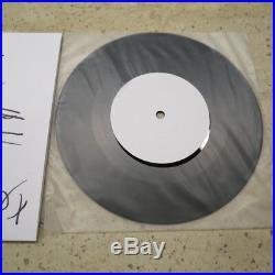 The Cure Friday I'm In Love secret 7 test pressing drawn by Robert Smith +COA