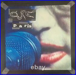 The Cure -Paris 2LP UK Fiction Records 1993 FIXH26