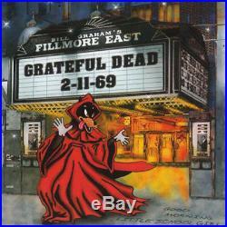 The Grateful Dead Fillmore East 2-11-69 New Vinyl LP Ltd Ed, 180 G