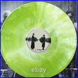 The Matrix Soundtrack Exclusive Green With White Starburst 2x Vinyl LP #/330