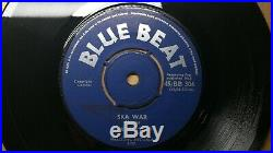 The Maytals Treat Me Bad / Skatalites Perhaps 1965 Blue Beat UK Ska 45 RARE