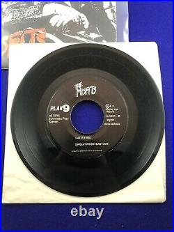 The Misfits Bullet 7 Vinyl Original 1st Press Black Vinyl Near Mint No Insert