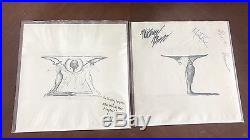 The Smashing Pumpkins Widow Wake My Mind & Astral Planes 7s vinyl records LP