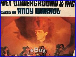 The Velvet Underground & Nico 1967 Warhol Cover Banana torso mono V5008 1st Stat