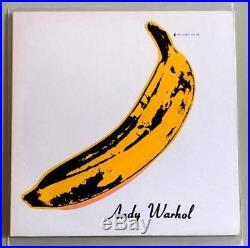 The Velvet Underground & Nico OG 1968 Verve Vinyl LP Intact Banana Peel NM