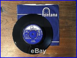 The Who/High Numbers Zoot Suit/I'm The Face Original Fontana Vinyl 7 TF-480