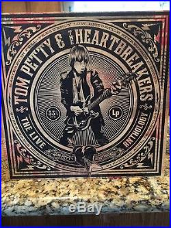 Tom Petty And The Heartbreakers Live Anthology 7 LP Vinyl Set