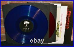UNDERTALE Soundtrack, Limited 180G 2LP RED + BLUE VINYL Gatefold + Inserts NEW