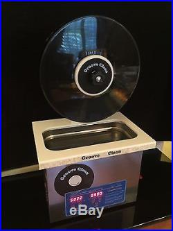 Ultrasonic Record Cleaner Groove Clean Vinyl Clean Record Cleaning Machine