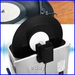 Ultrasuoni macchina per la pulizia di dischi in vinile di dischi regolabili