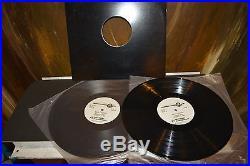 VERY RARE JOHN LENNON THE BEATLES vinyl records 33 AIRPLAY NBC MASTER LPs GIFT