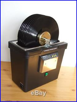 VINYL ULTRASONIC RECORD CLEANER DIY with automatic drive   Vinyl