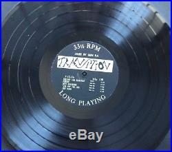 Very Rare! JAZZ BY SUN RA 1st press Orig. TRANSITION 1957 12 LP