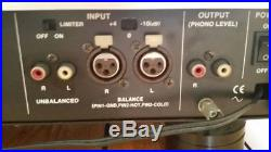 Vestax VRX-2000 record cutting cutter DJ turntable lathe vinyl (presto neumann)