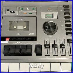 Vintage Retro Sharp SG-320E Music Center Vinyl LP Record Player Tape Deck Radio