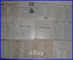 Vintage Vinyl collection 77 ep records 1950's lot country arnold, Tubbs MORE