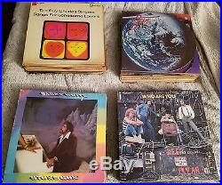Vintage vinyl record lot