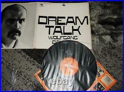 Wolfgang Dauner Trio Dream Talk Original Multifoldout Cover Lp 1964 Cbs 62478
