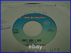 Yiddish Soul Brother Amnon Only Girl I Had/In New 45 rpm Chess VG Northern Soul