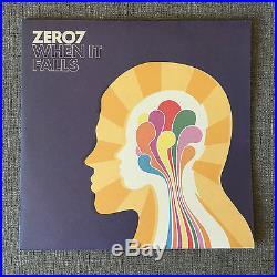 Zero 7 When it Falls Vinyl LP NM Original RARE