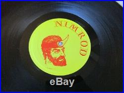 Zero Boys VICIOUS CIRCLE LP 1st Press Nimrod Rec-001 KBD necros fix ssd misfits